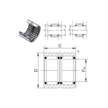 RNAFW142220 JNS Needle Roller Bearings