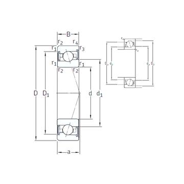 VEX 30 /S/NS 7CE3 SNFA Angular Contact Ball Bearings