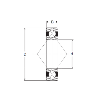 QJM 1.3/4 SIGMA Angular Contact Ball Bearings
