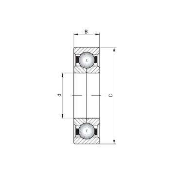 QJ1009 CX Angular Contact Ball Bearings