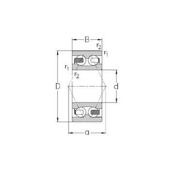 3305-B-TV NKE Angular Contact Ball Bearings
